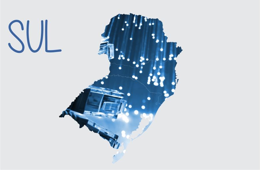 Série Regiões: Análise da infraestrutura de telecomunicações nas regiões do Brasil – Região Sul