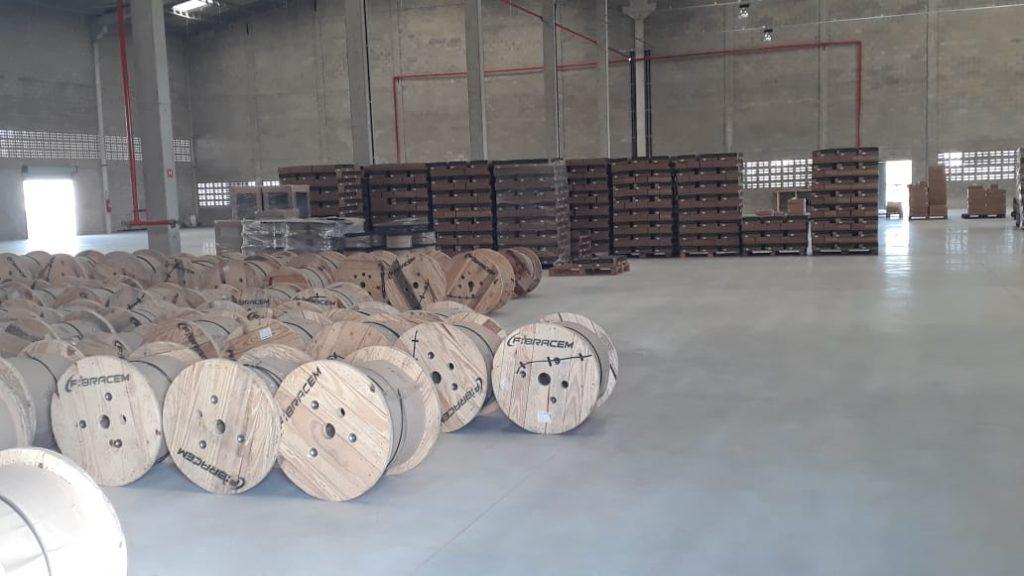 fábrica da Fibracem em Linhares