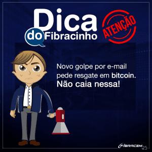 Golpe por e-mail pede resgate em bitcoin