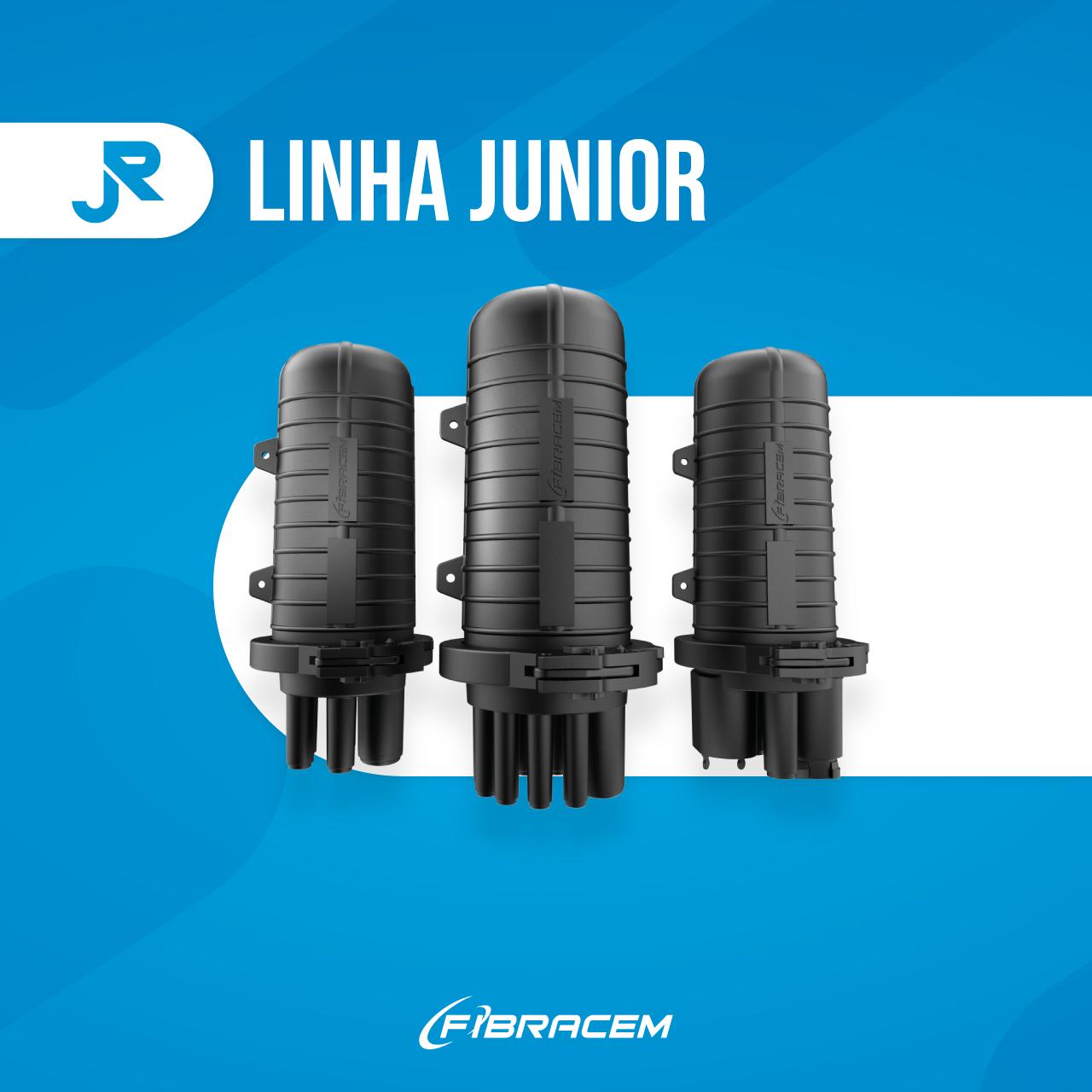 Fibracem lança linha Junior de Caixa de Emenda Óptica e Caixa Terminal Óptica. Confira!