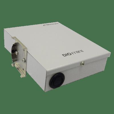 Distribuidor Interno Óptico DIO 8 Fibras Trilho Din Mini