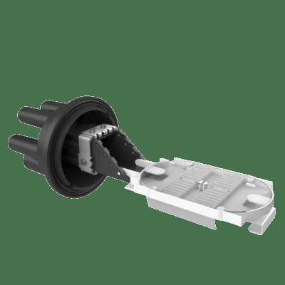 Caixa de Emenda Óptica 24 Fibras SVT Junior