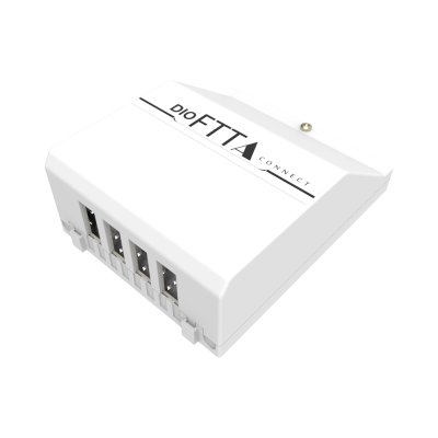 DISTRIBUIDOR INTERNO ÓPTICO DIO FTTA CONNECT SEM SPLITTER E ADAPTADOR