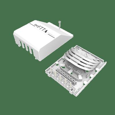 Distribuidor Interno Óptico DIO FTTA Connect Sem Splitter e Adaptador