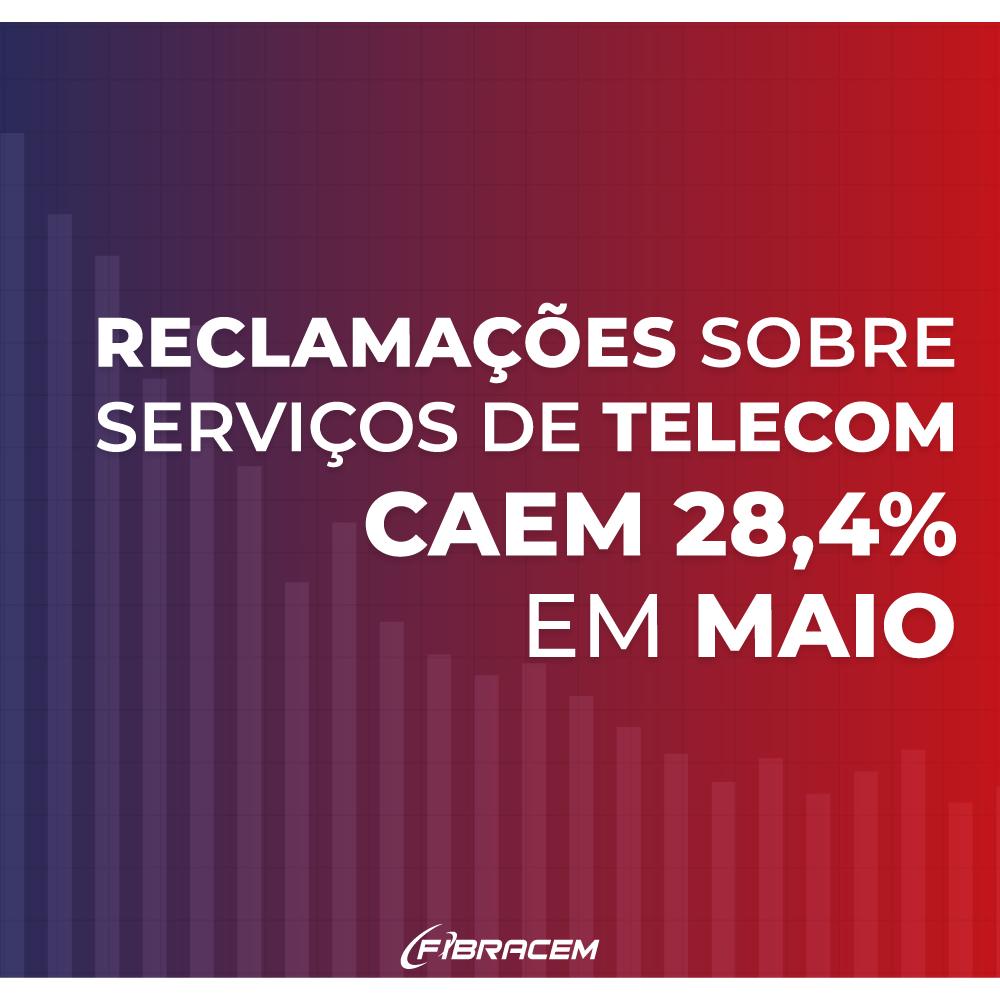 Read more about the article Reclamações sobre serviços de telecom caem 28,4% em maio