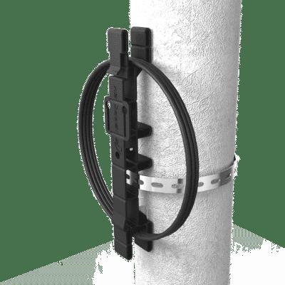 Caixa Terminal Óptica CTO 1x8 SC APC NAP NG (6.5 a 12) com Reserva Click