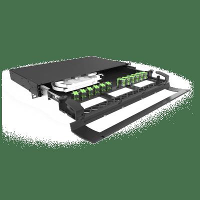 Distribuidor Interno Óptico DIO 24 Fibras Fit Cristal